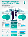 INFOGRAPHIC:  Moving from the back office to the front lines - CIO Insights (part of CIO C-suite study)