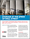 InfoWorld: Storage at the speed of Wall Street