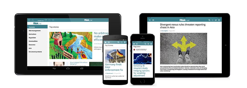 Multi Platform App display