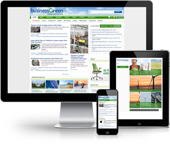 BusinessGreen Display Formats - Desktop, iPad and iPhone