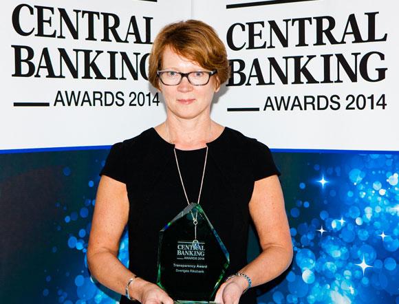 Transaparency Award: Sveriges Riksbank