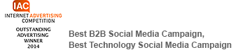 Best B2B Social Media Campaign, Best Technology Social Media Campaign